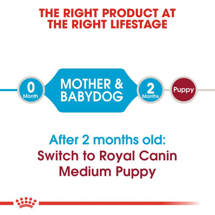 Royal Canin Medium Starter Mother & Babydog Dry Dog Food - 12kg - PetMonkey