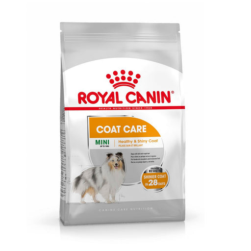 Royal Canin Mini Adult Coat Care Dry Dog Food - 8kg - PetMonkey