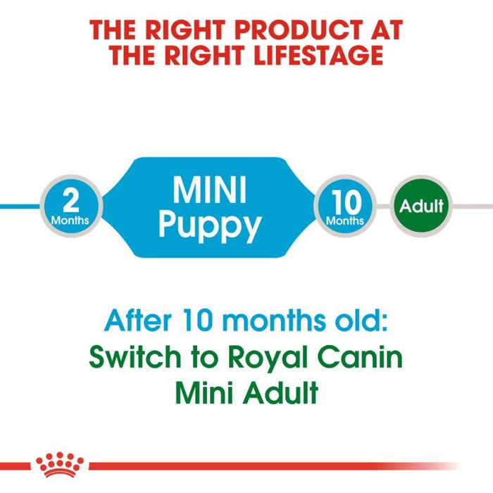 Royal Canin Mini Puppy Dry Dog Food - 2kg - PetMonkey