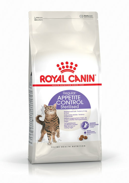 Royal Canin Regular Appetite Control Sterilised Dry Cat Food - 4kg - PetMonkey