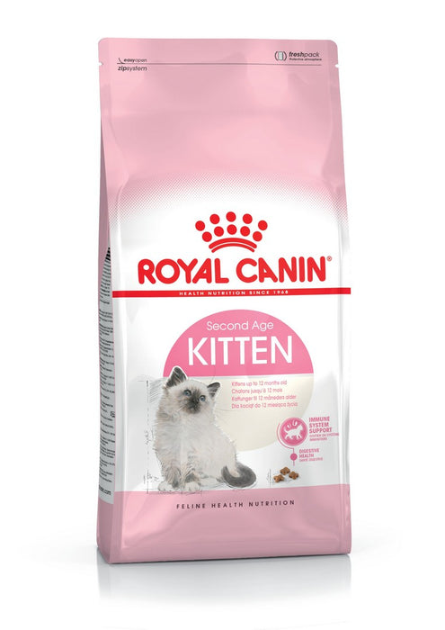 Royal Canin Second Age Kitten Dry Cat Food - 4kg - PetMonkey