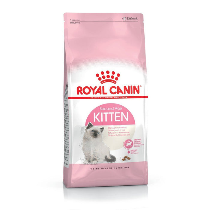 Royal Canin Second Age Kitten Dry Cat Food - 10kg - PetMonkey