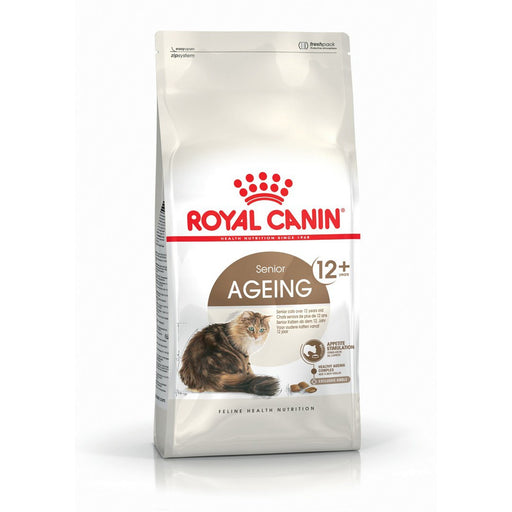 Royal Canin Senior Ageing 12+ Dry Cat Food - 4kg - PetMonkey