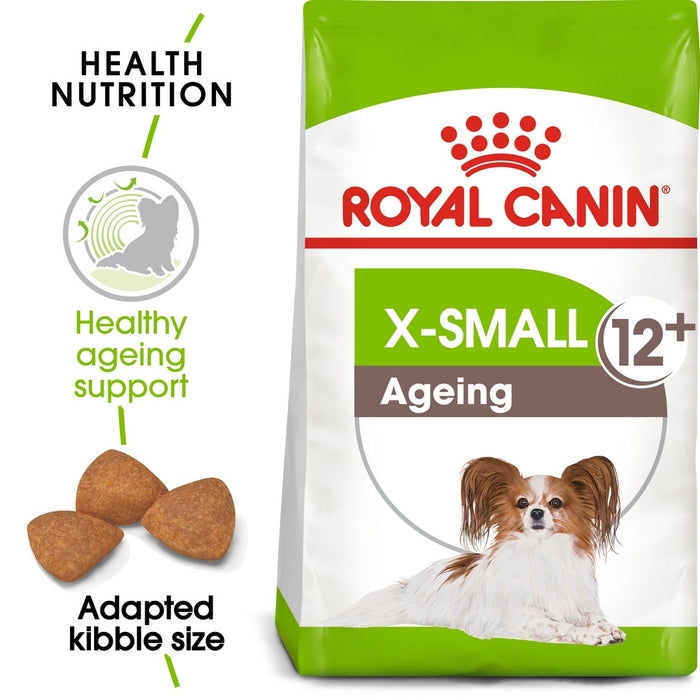 Royal Canin X-Small Ageing 12+ Dry Dog Food - 1.5kg - PetMonkey