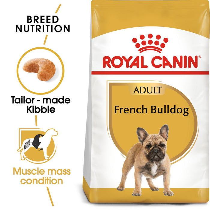Royal Canin French Bulldog Adult Dry Dog Food - 3kg - PetMonkey