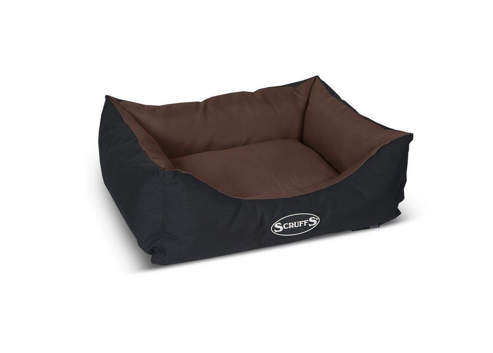 Scruffs Expedition Box Dog Bed - Chocolate - S - PetMonkey