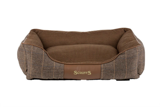 Scruffs Windsor Box Dog Bed - Chestnut - M - PetMonkey