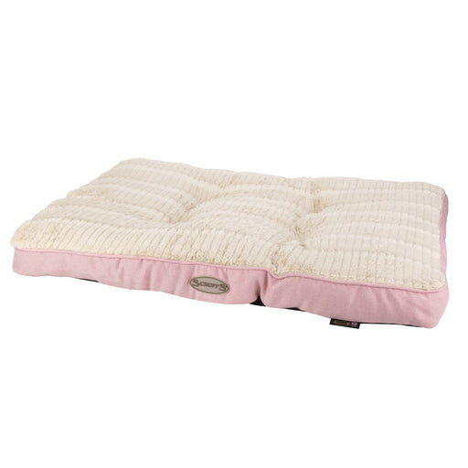 Scruffs Ellen Dog Mattress - Pink - L - PetMonkey