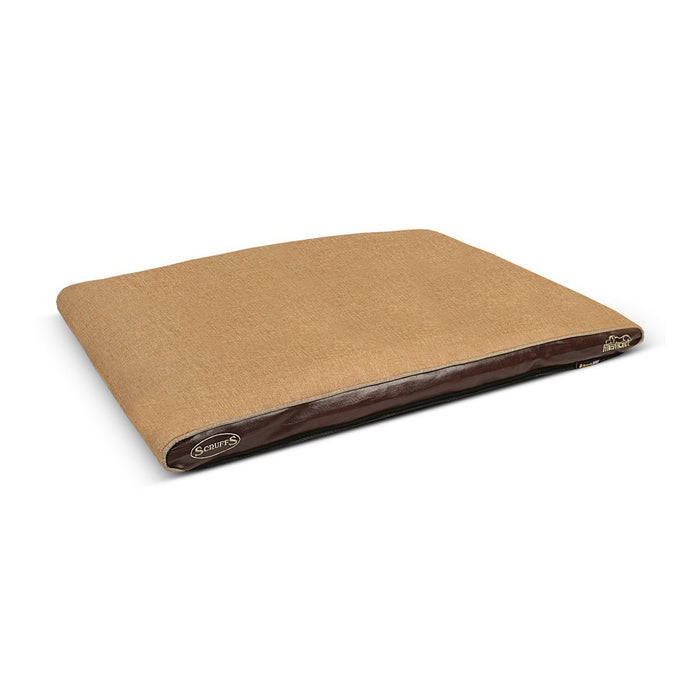Scruffs Hilton Orthopaedic Dog Bed - Tan - L - PetMonkey