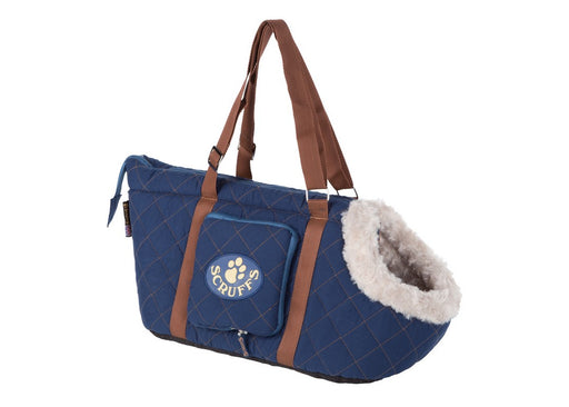 Scruffs Wilton Dog Carrier - Blue - PetMonkey