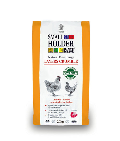 Smallholder Range Layers Crumble - 20kg - PetMonkey