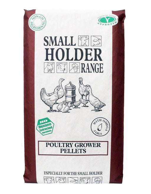 Smallholder Range Poultry Growers Pellets - 20kg - PetMonkey