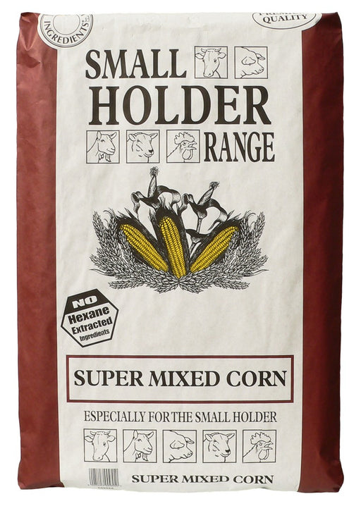 Smallholder Range Super Mixed Corn - 20kg - PetMonkey