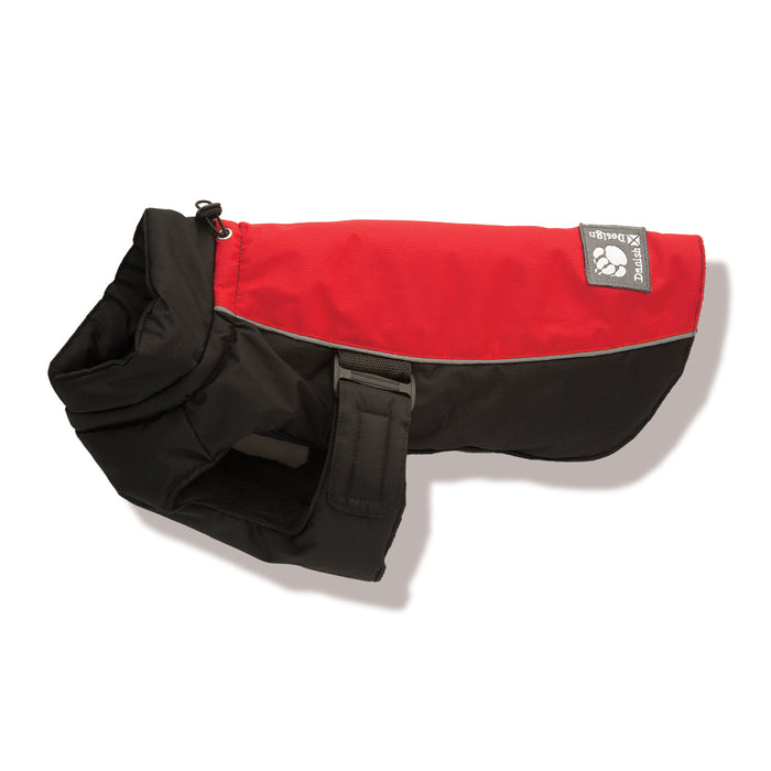 "Danish Design Sports Luxe Dog Coat - Red - 50cm/20"" - PetMonkey"