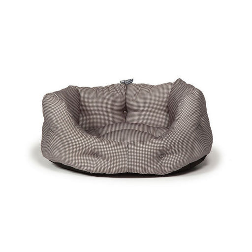 Danish Design Deluxe Vintage Slumber Dog Bed - Dogstooth - XL - PetMonkey