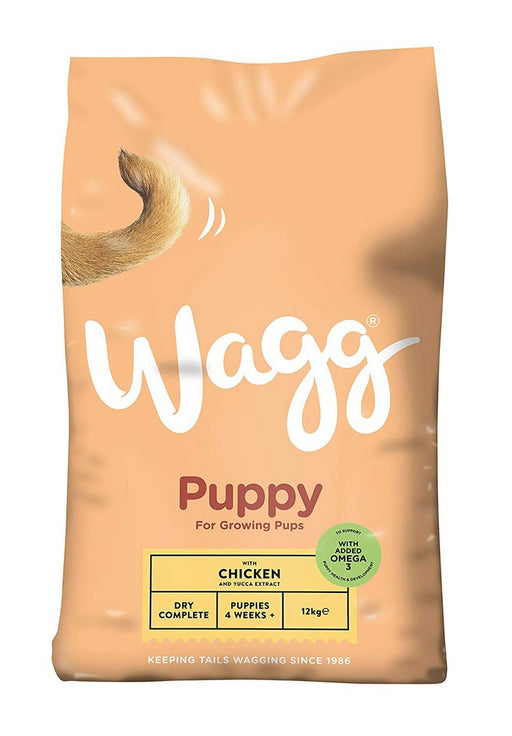 Wagg Complete Puppy Dry Dog Food - 12kg - PetMonkey