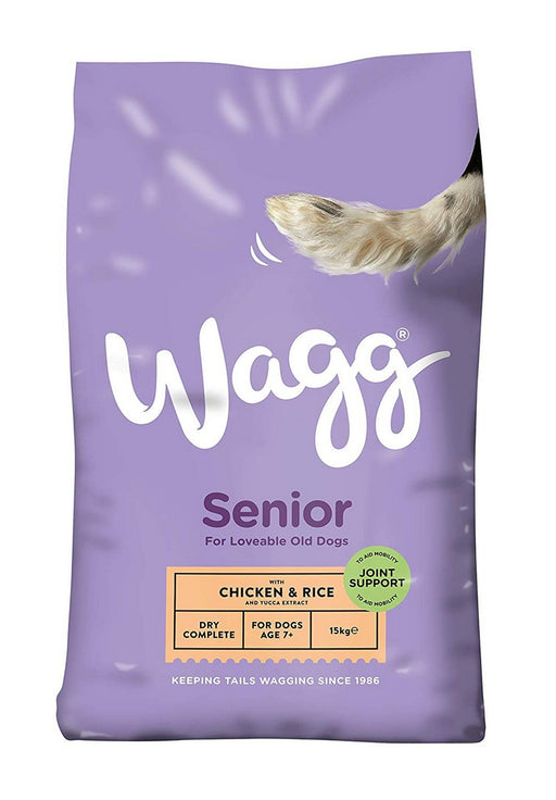 Wagg Complete Senior Dry Dog Food - 15kg - PetMonkey