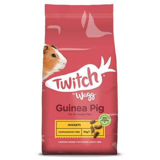 Wagg Twitch Guinea Pig Nuggets - 2kg - PetMonkey