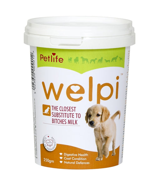 Petlife Welpi Dog / Puppy Dried Milk Powder Substitute - 250g - PetMonkey
