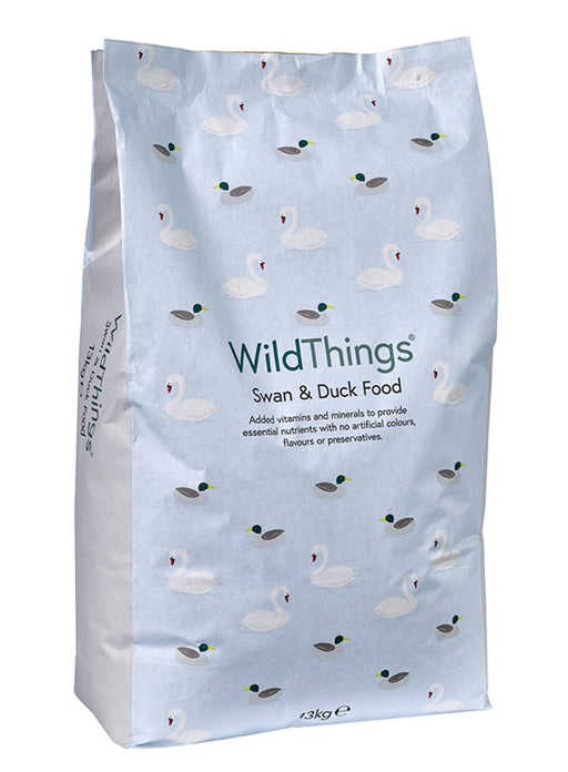 Wild Things Floating Swan & Duck Food - 13kg - PetMonkey