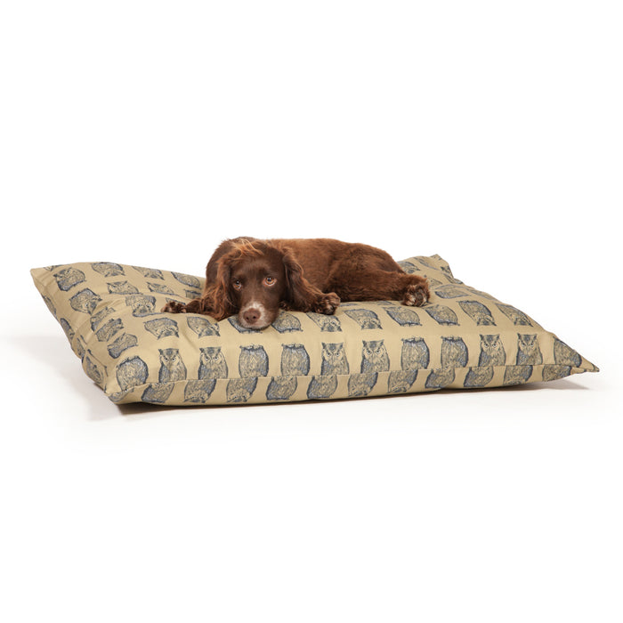 Danish Design Woodland Deep Duvet Dog Bed - Owl - L - PetMonkey