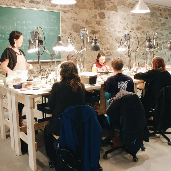Intermediate Silversmithing Course | July 27-28