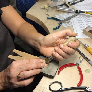Intermediate Silversmithing Course | August 8 & 9 | DEPOSIT