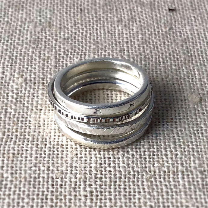 Stacking Ring Workshop - NOW 20% OFF!!!