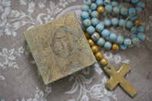 Load image into Gallery viewer, Large Decorative Wooden Rosary