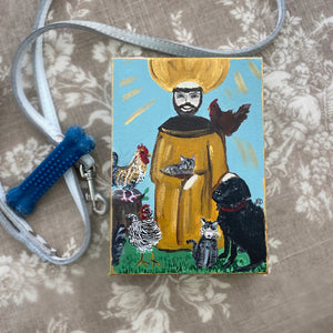 Custom Pet Portraits with St. Francis