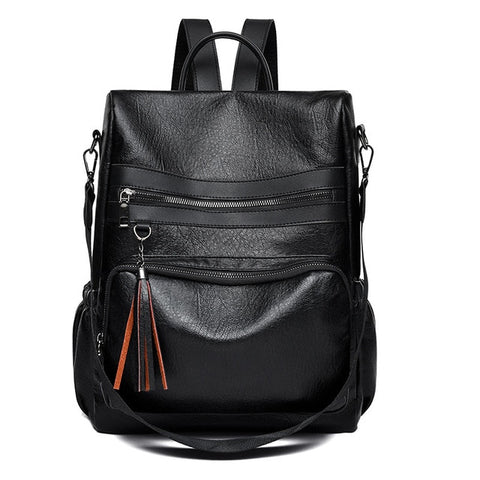 Black Backpack Large Capacity