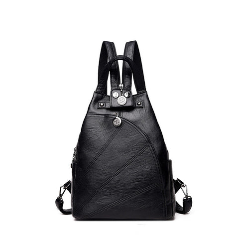 PU Leather Small Backpack