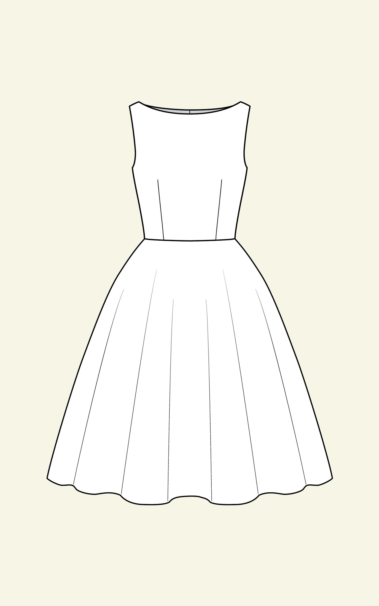 AUDREY SLEEVELESS DRESS