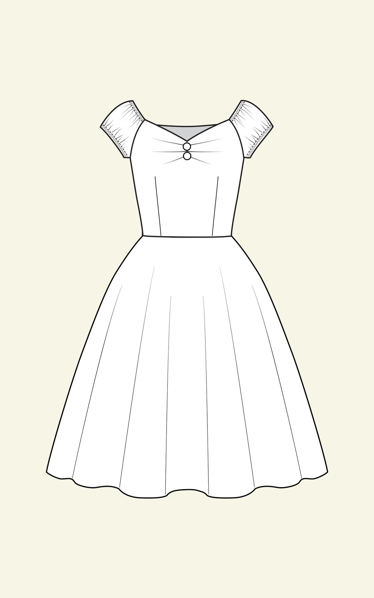 DOLORES DRESS