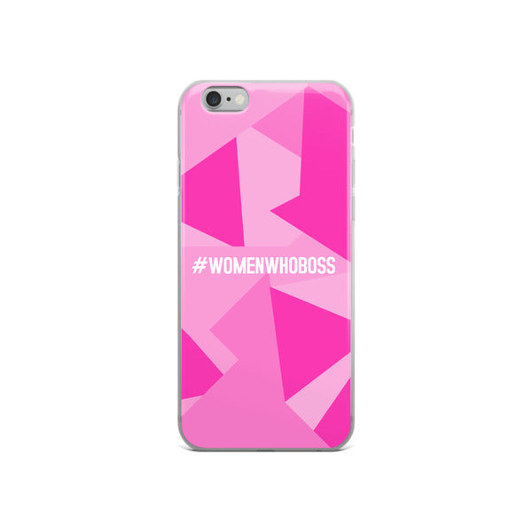 #WOMENWHOBOSS iPHONE CASE