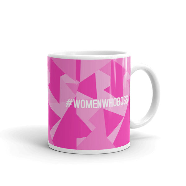 #WOMENWHOBOSS COFFEE MUG