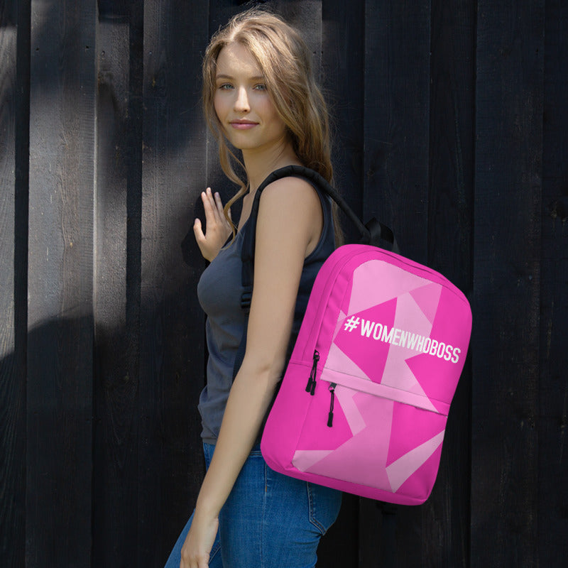 WWB BACKPACK (PINK PRINT)