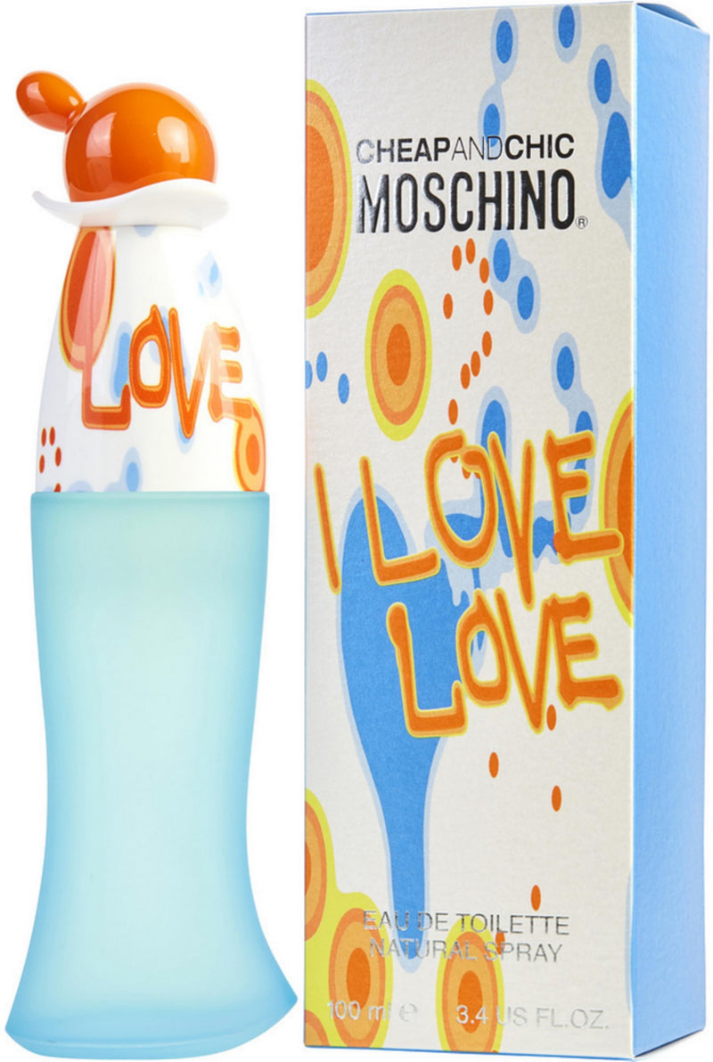 MOSCHINO I LOVE LOVE 3.4oz EDT SP (L)