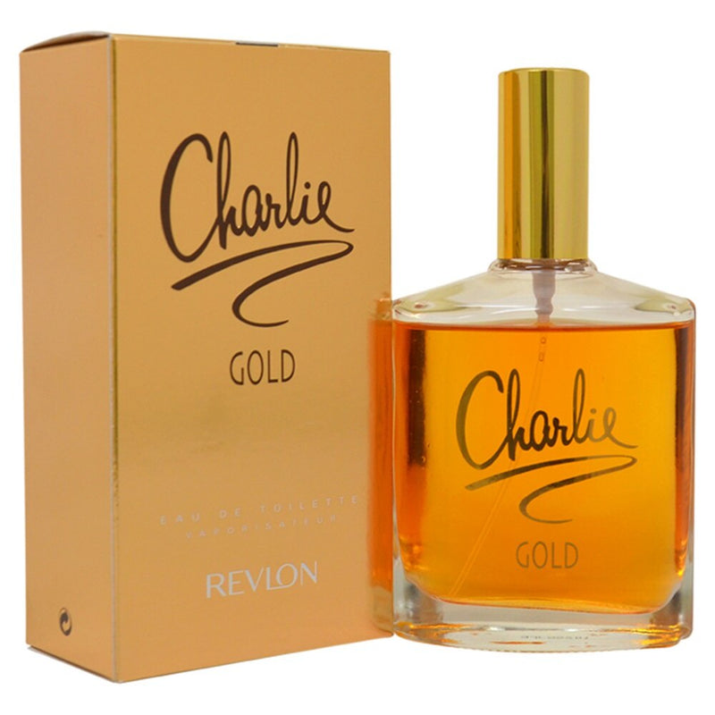 CHARLIE GOLD 3.4oz EDT SP (L)