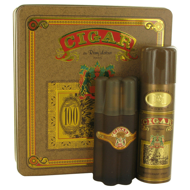 CIGAR SET 3.3oz EDT SP + 6.6 DEO SP (M)