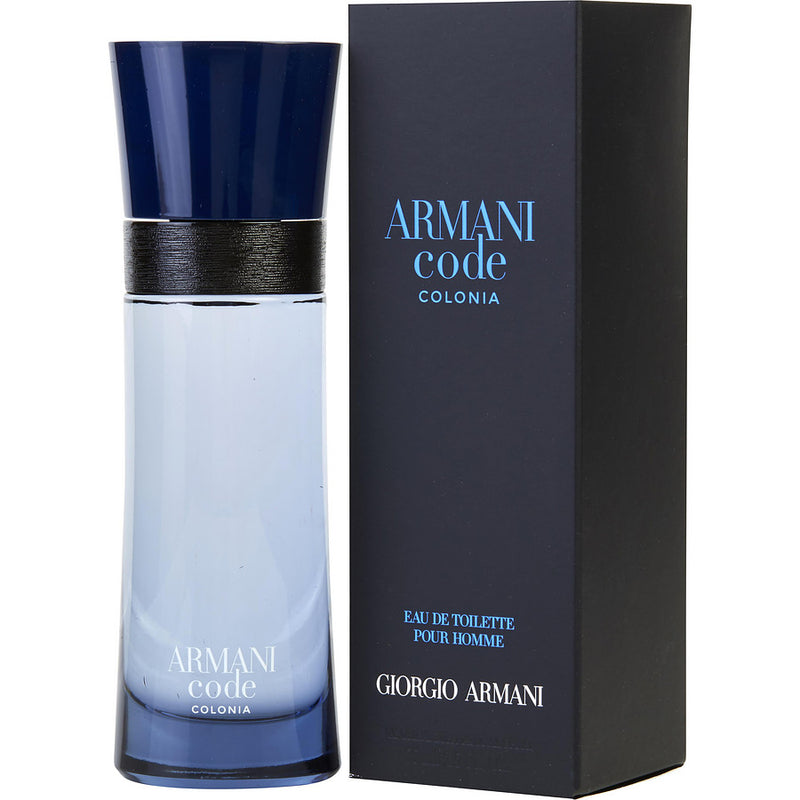 ARMANI CODE COLONIA 2.5oz EDC SP (M)