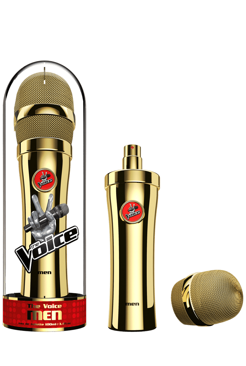 THE VOICE GOLD EDITION 3.4oz EDT SP (M)