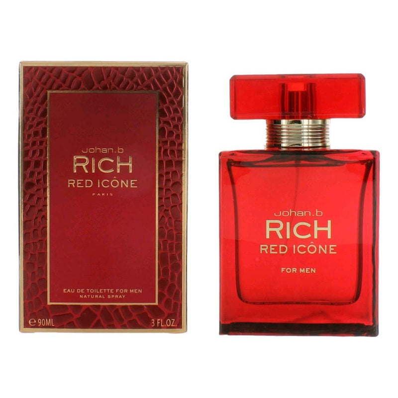 RICH RED ICONE 3oz EDT SP (M)