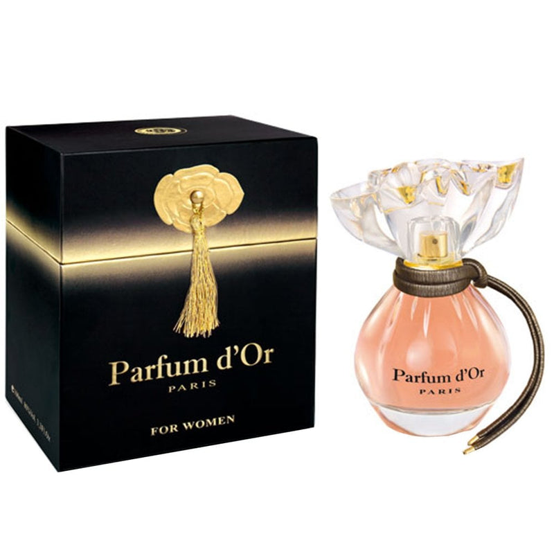 PARFUM D'OR BLACK 3.3oz EDP (L)