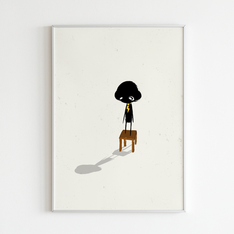 Art Print - clclcloud: While standing