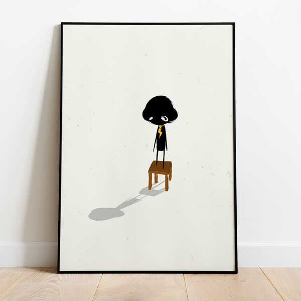 Wall Art - clclcloud: While standing