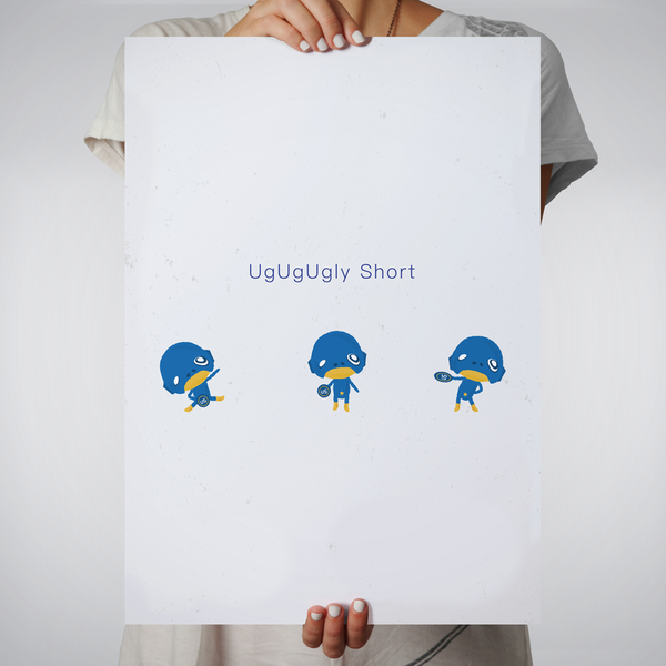 Wall Art - UgUgUgly Short