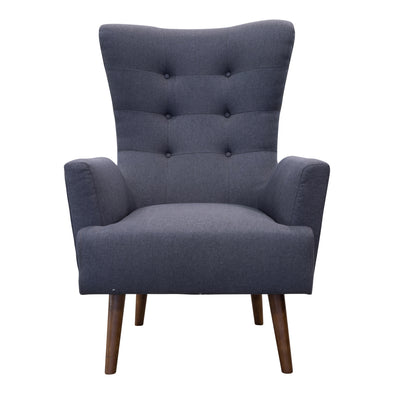 Sebastian Accent Chair – Mid grey - Warehouse Furniture Clearance