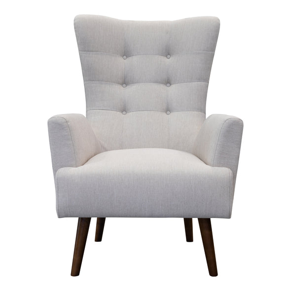 Sebastian Accent Chair – Oat White - Warehouse Furniture Clearance