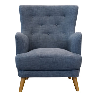 Zoe Accent Chair – Steel - Warehouse Furniture Clearance